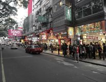 Гонконг, Kowloon стоковое фото