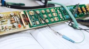 Гонорар ремонта электроники Стоковая Фотография