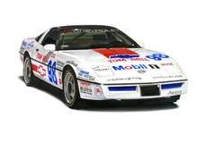 Гоночная машина Chevrolet Corvette Стоковые Изображения RF