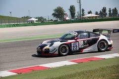 Гоночная машина GT3 ПОРШЕ 997 стоковая фотография rf