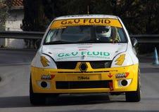 Гоночный автомобиль Renault Clio Rs Стоковое Изображение RF
