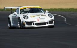 Гоночный автомобиль Порше GT3 Стоковое Изображение RF