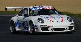 Гоночный автомобиль Порше GT3 Стоковые Фото