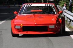 Гоночный автомобиль Фиат X1/9 Стоковое Изображение