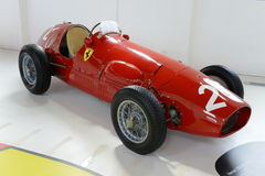 Гоночный автомобиль формулы F2 Феррари Tipo 500 Стоковые Изображения