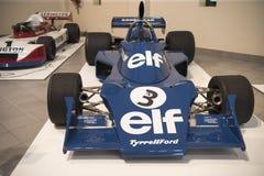 Гоночный автомобиль формулы 1 Tyrell Форда Стоковое Фото