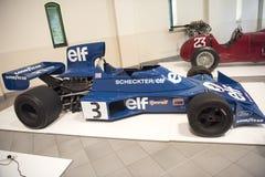Гоночный автомобиль формулы 1 Tyrell Форда Стоковое Изображение RF