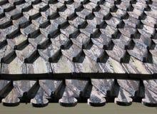 гонт крыши стоковые изображения rf