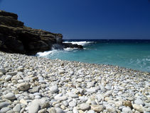 гонт пляжа Стоковое фото RF