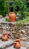 гончарня Большая unpainted ваза Стоковые Фото