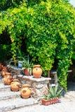 гончарня Большая unpainted ваза Стоковая Фотография RF