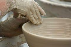 гончарня глины Стоковые Изображения RF