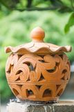 Гончарня глины для лампы Стоковое фото RF