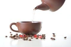 гончарня кофе Стоковая Фотография