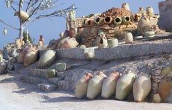 гончарня Тунис стоковое изображение rf