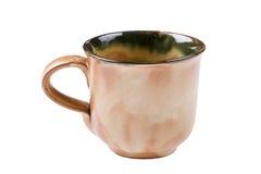 гончарня чашки Стоковая Фотография