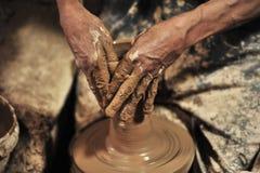Гончарня handmade в â… ¢ мастерской стоковое изображение