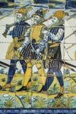 Гончарня Talavera, плитки Базилика del Prado, Talavera de Ла Reina Стоковые Фотографии RF