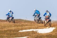 3 гонщика enduro Стоковое Фото