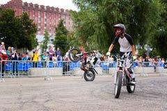 Гонщики Enduro Стоковое Фото