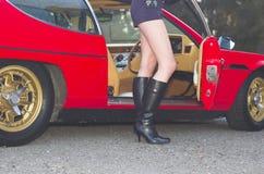 гонщик автомобиля Стоковое Фото