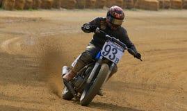 Гонщик велосипеда грязи Стоковые Фото