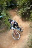гонщик горы bike Стоковые Фотографии RF