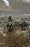гонщик грязи bike Стоковые Фотографии RF
