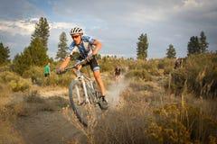 гонщик decker cyclocross Карла профессиональный стоковая фотография rf