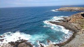 Гоньба щепок вида на океан @, Австралия Стоковое фото RF