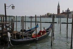 Гондола Венеции Стоковое Изображение