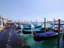 Гондола, Венеция, Италия Стоковые Изображения RF