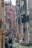 Гондола в Венеции, Италии Стоковое фото RF
