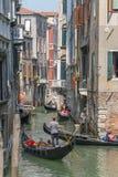 Гондола в Венеции, Италии Стоковое Изображение RF