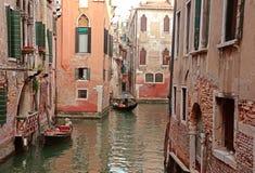 гондола Италия venice канала Стоковые Изображения RF