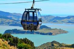 Гондола Крайстчёрча - Новая Зеландия стоковое фото rf