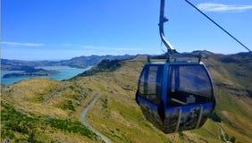 Гондола Крайстчёрча - Новая Зеландия стоковое изображение rf