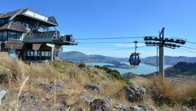 Гондола Крайстчёрча - Новая Зеландия стоковые фото