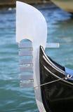 Гондола на грандиозном канале в Венеции в Италии Стоковое Изображение
