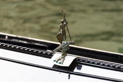 Гондола St. George и деталь дракона Стоковое Фото