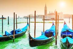 гондолы грандиозная Италия venice канала Стоковое Изображение RF