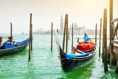 гондолы грандиозная Италия venice канала Стоковые Изображения