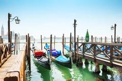 гондолы грандиозная Италия venice канала Стоковое фото RF