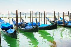 гондолы грандиозная Италия venice канала Стоковые Фото