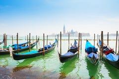 гондолы грандиозная Италия venice канала Стоковые Изображения RF