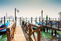 гондолы грандиозная Италия venice канала Стоковое Фото