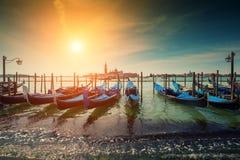 гондолы Италия venice Стоковая Фотография RF