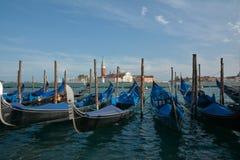 Гондолы на Венеции Стоковая Фотография RF
