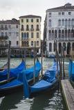 Гондолы, Венеция, Италия Стоковые Фотографии RF