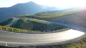 Гора автомобиля дорожного движения видеоматериал